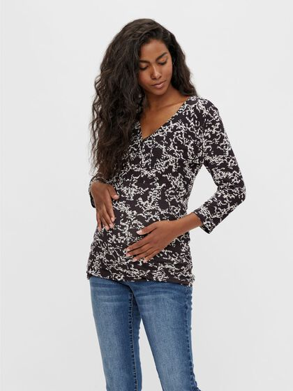 MLTRILLE 2-IN-1 MATERNITY TOP