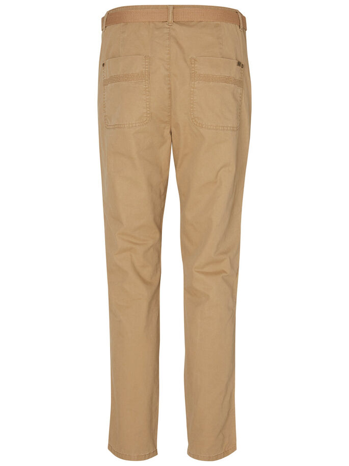 ENKEL CHINO BROEK, Tigers Eye, large