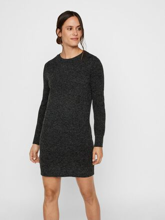 KNITTED MINI DRESS