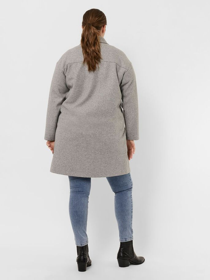 LANG JAS, Light Grey Melange, large