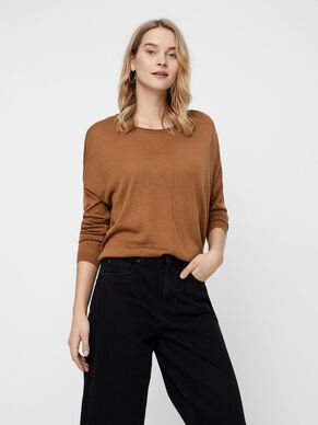 KNITTED LONG SLEEVED BLOUSE 386f751f0