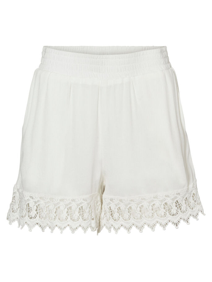 EMBROIDERED SHORTS, Snow White, large