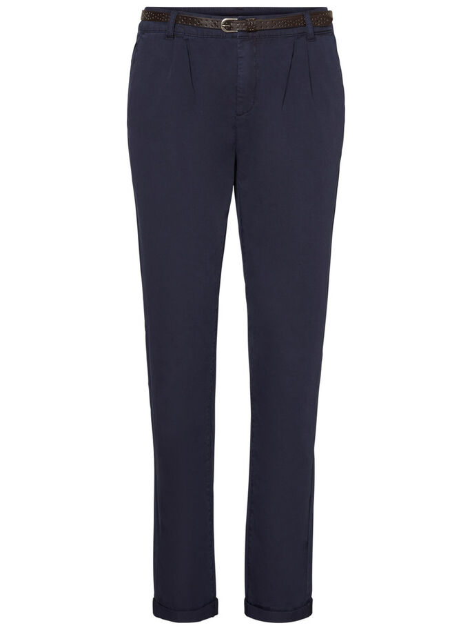 CHINO TROUSERS, Navy Blazer, large