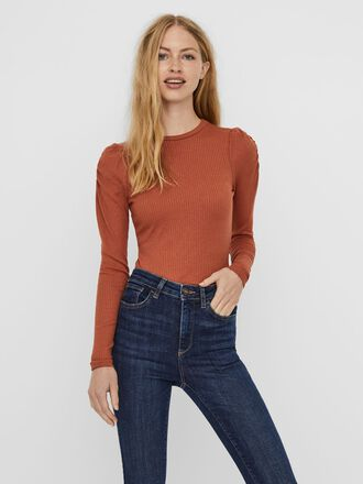 PUFF SLEEVED LONG SLEEVED TOP