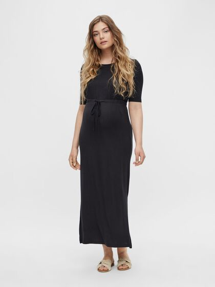 MLALISON MANCHES 2/4 ROBE GROSSESSE