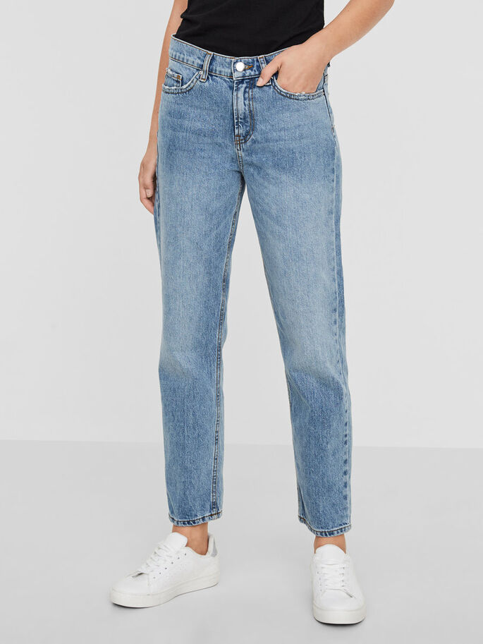 MM/VM STRAIGHT FIT JEANS, Light Blue Denim, large