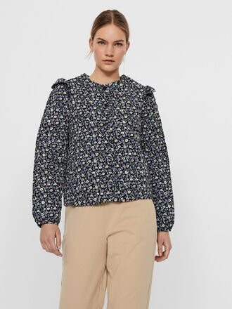 FLOWER QUILTED BOMBER JACKET