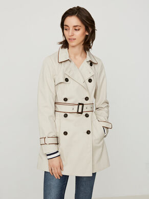 LONG SLEEVED TRENCHCOAT