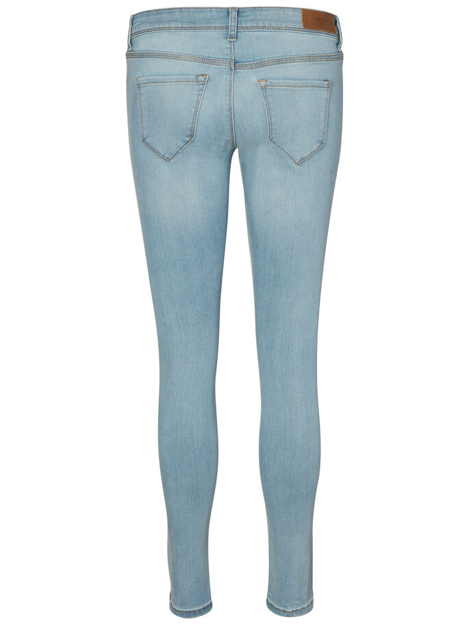 FIVE LW ANKLE SKINNY JEANS, Light Blue Denim, large