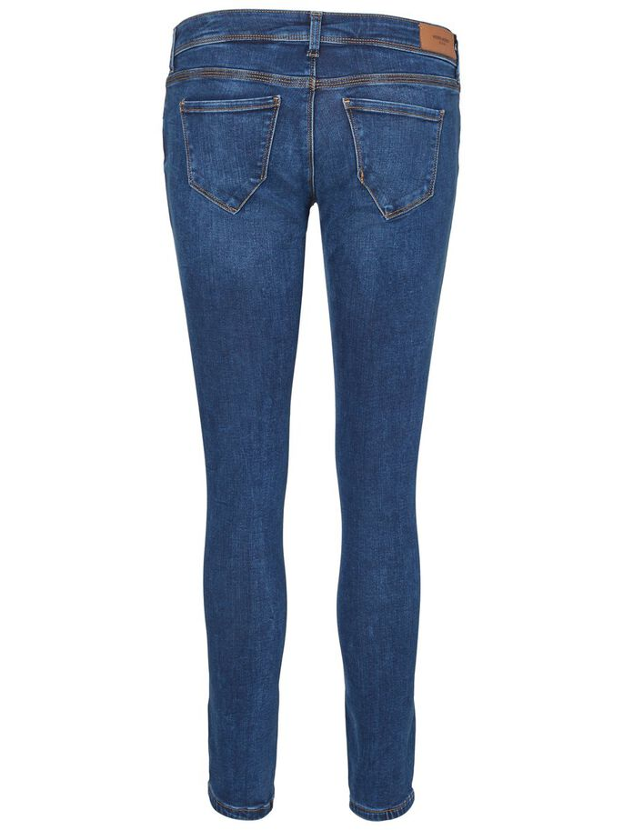 FIVE LW ANKLE SKINNY FIT JEANS, Dark Blue Denim, large