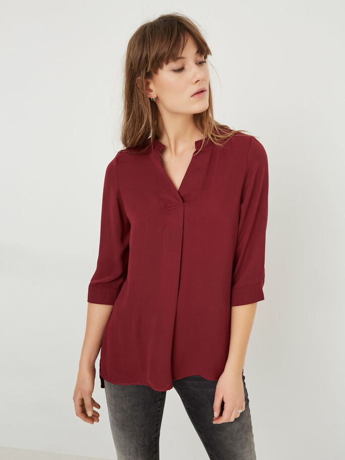 LONG SHIRT, Zinfandel, large