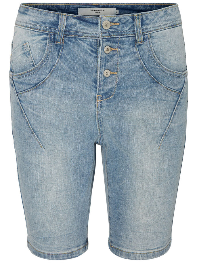 ANTIFIT LW DENIM SHORTS, Light Blue Denim, large