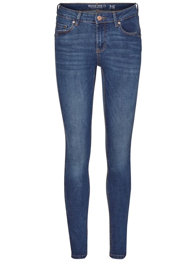 LUCY NW SUPER SKINNY FIT JEANS, Medium Blue Denim, large