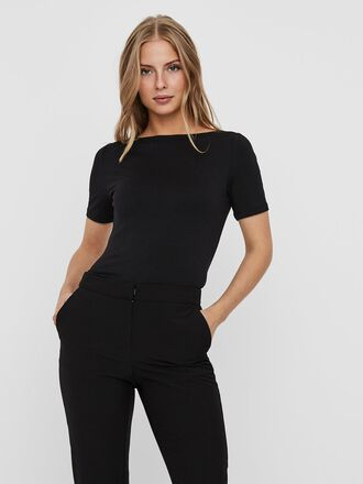 O-NECK SHORT SLEEVED TOP