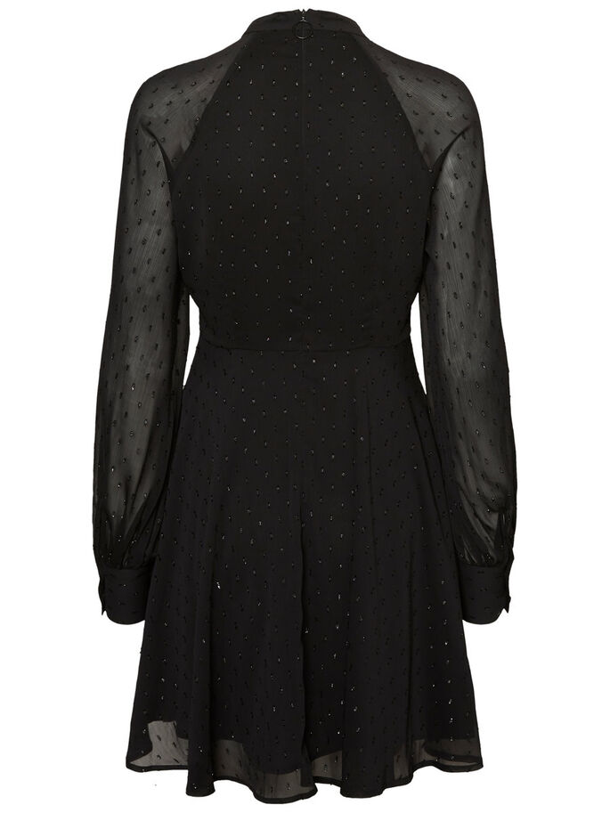 AWARE LONG SLEEVED DRESS, Black, large