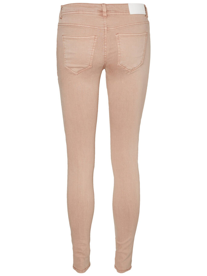 EVE LW SKINNY FIT JEANS, Dusty Coral, large