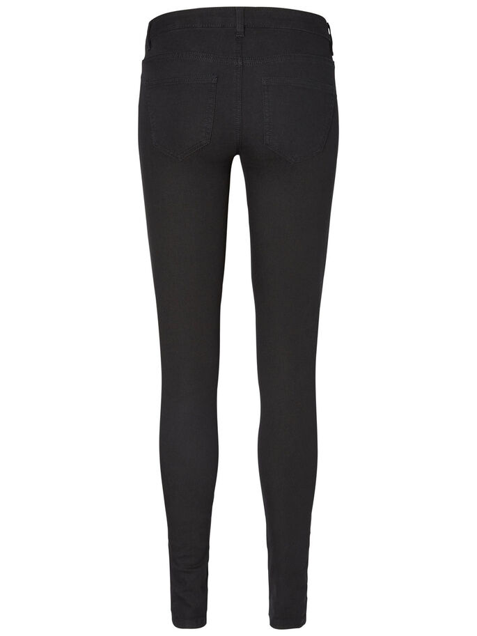 EVE LW SUPER SKINNY FIT JEANS, Black, large