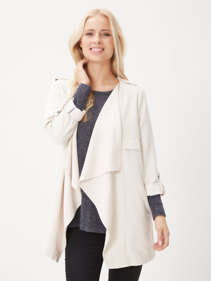 LOOSE FIT JACKET, Moonbeam, large