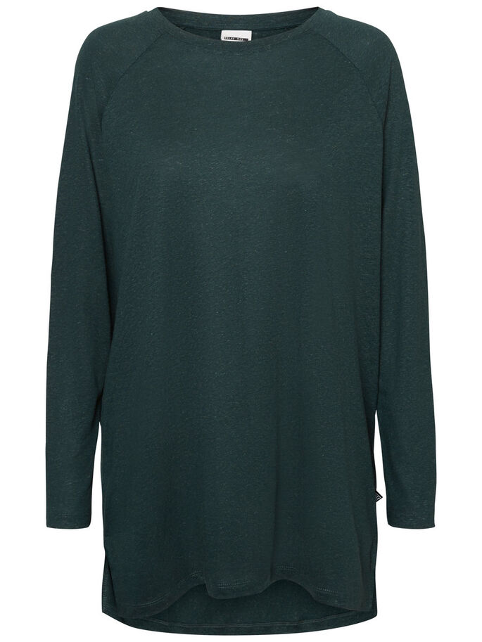 CASUAL LONG SLEEVED BLOUSE, Green Gables, large