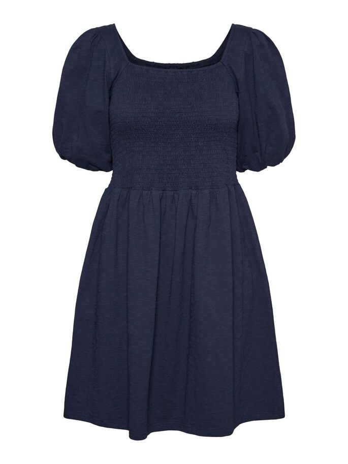 SMOCK MINI-ROBE, Navy Blazer, large