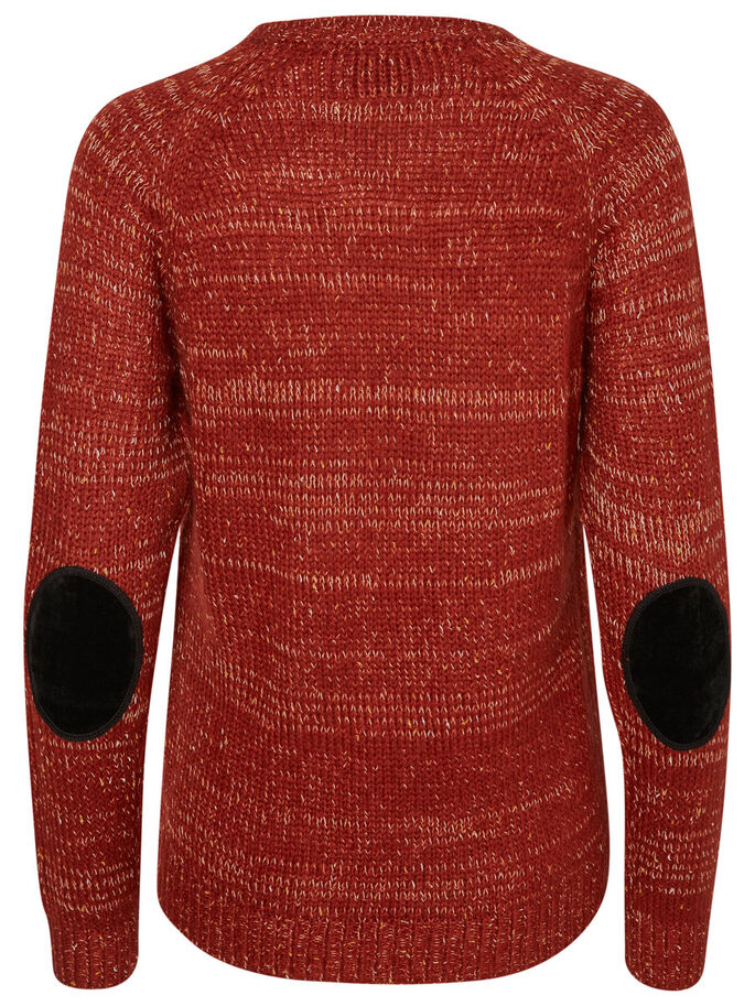 MAILLE PULLOVER, Fired Brick, large