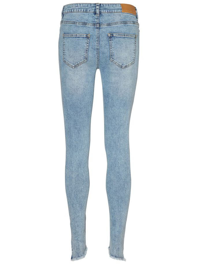 LUCY NW ANKLE FARKUT, Light Blue Denim, large