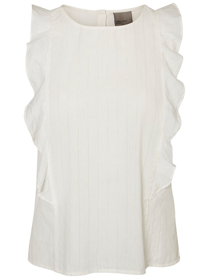 DETAILED SLEEVELESS TOP, Snow White, large