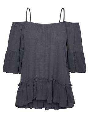 OFF-SHOULDER- BLUSE MIT 3/4 ÄRMELN