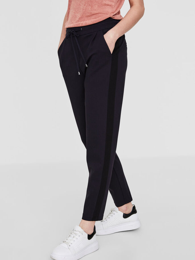 LOOSE FIT ANKLE TROUSERS, Navy Blazer, large