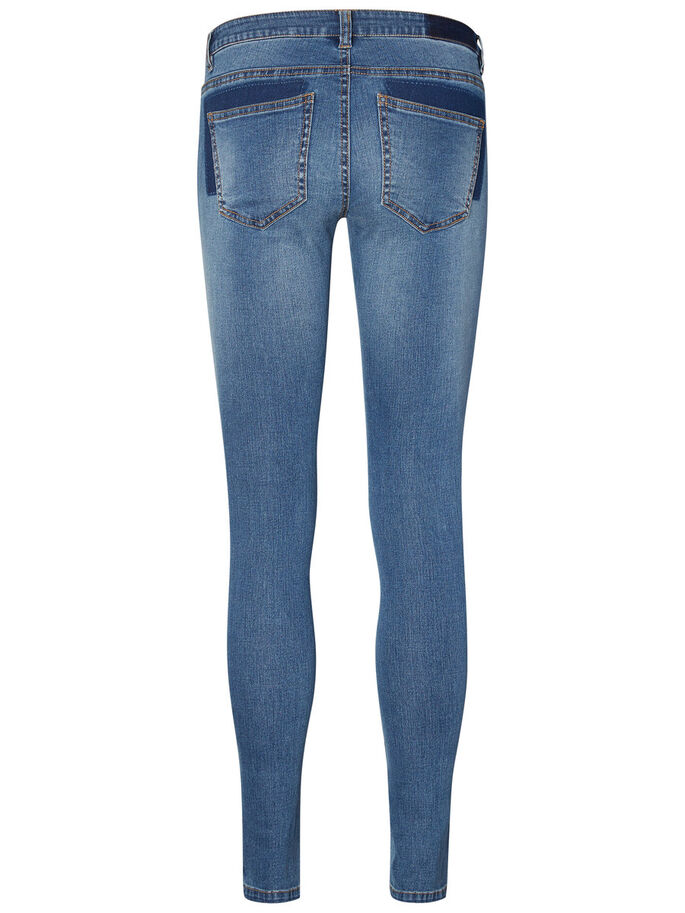 EVE LW SKINNY FIT JEANS, Medium Blue Denim, large