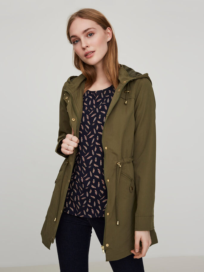 OVERGANGS PARKA, Ivy Green, large