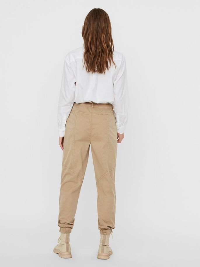 HIGH-WAIST BROEK, Nomad, large