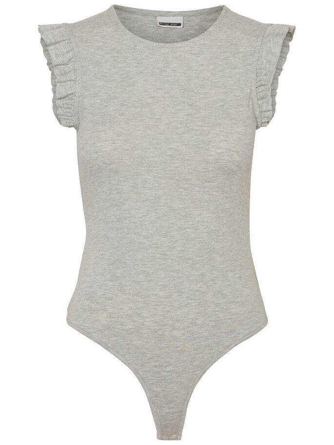 VOLANTS COLLANT DE CORPS, Light Grey Melange, large