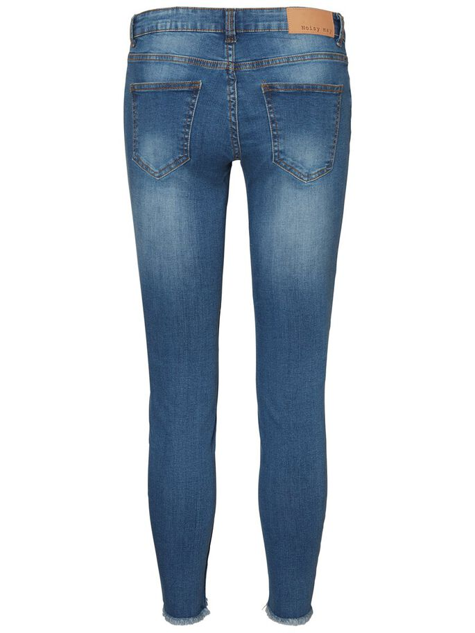 EVE LW ANKLE SKINNY FIT -FARKUT, Light Blue Denim, large