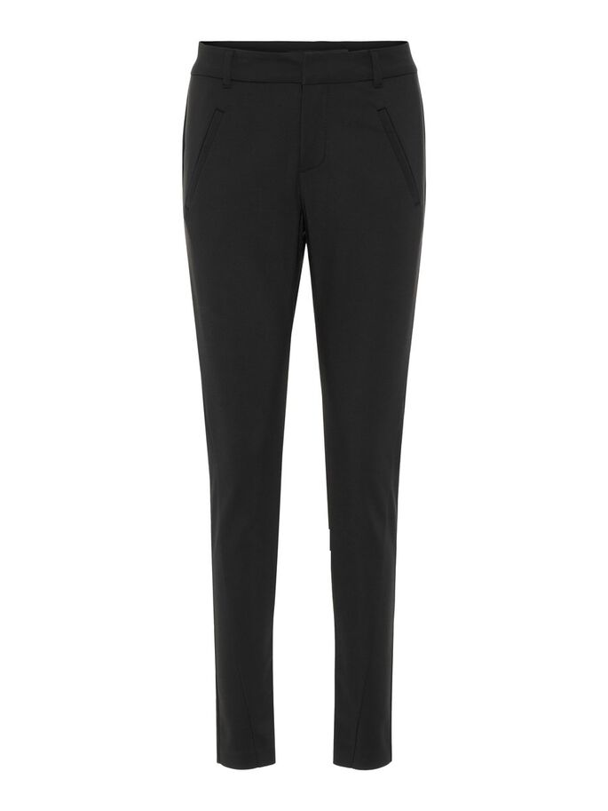 ANTI FIT NW CHEVILLE PANTALON, Black, large