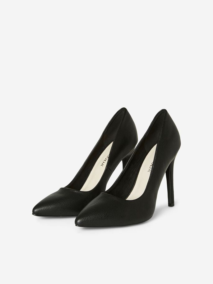 HIGH HEEL PUMPS, Black, large