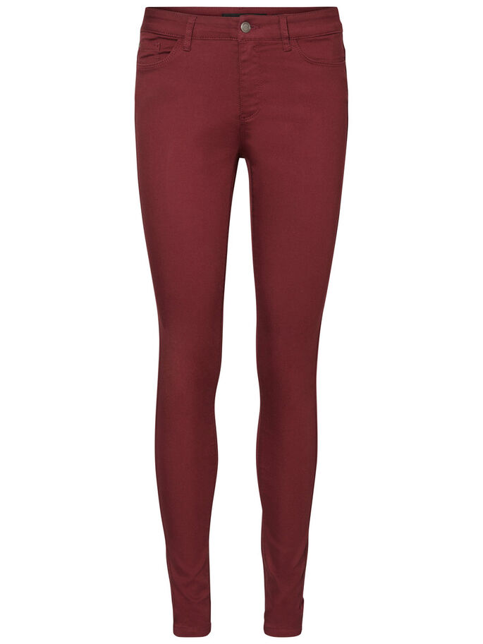 NW SEVEN TROUSERS, Zinfandel, large