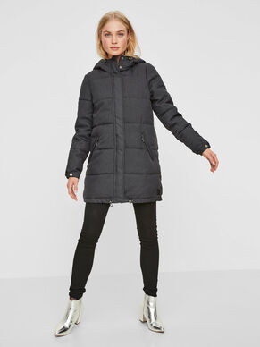 LONG PADDED WINTER COAT