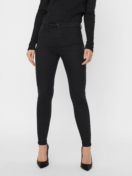 VMHOT HIGH WAIST SKINNY FIT JEANS
