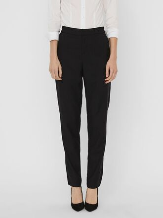 NORMAL WAIST CROPPED TROUSERS