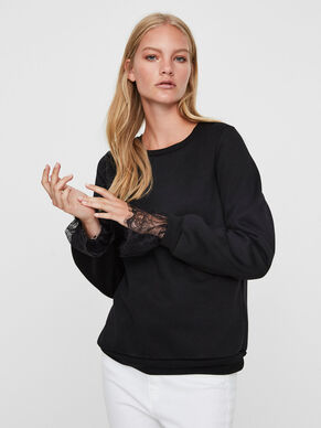 DENTELLE SWEAT-SHIRT