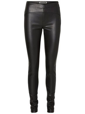 LEATHER-LOOK NW LEGGINGS