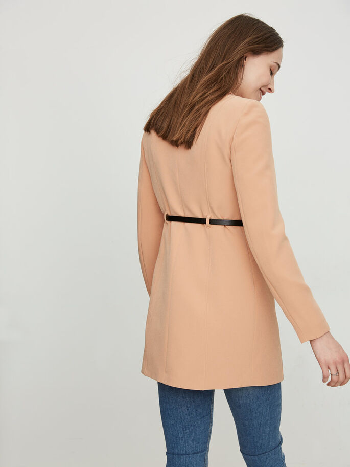 FEMININE JACKET, Camel, large