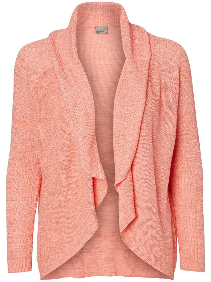 SHORT CARDIGAN, Georgia Peach, large