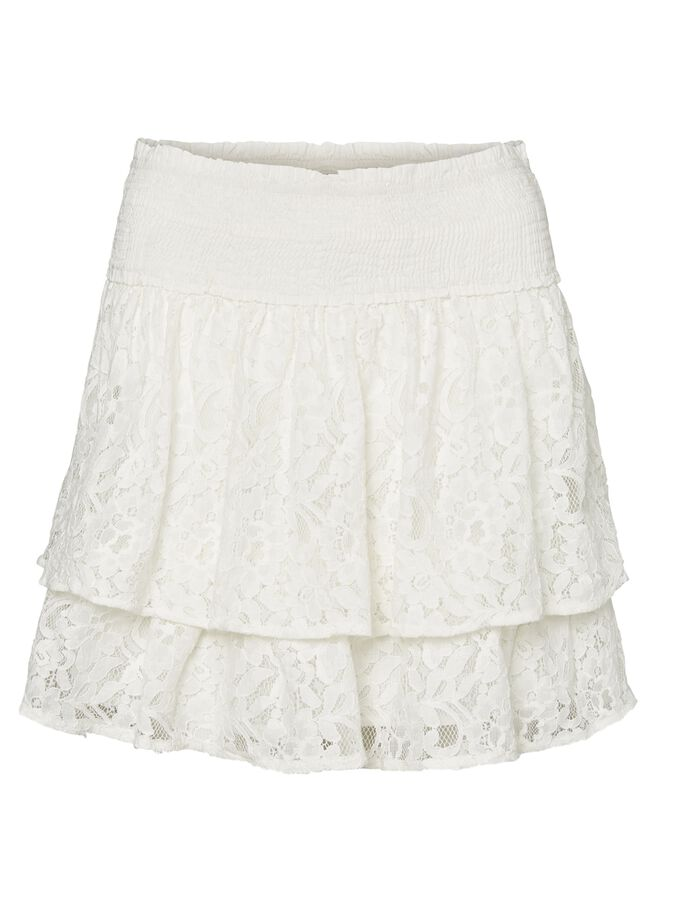LACE SKIRT, Snow White, large