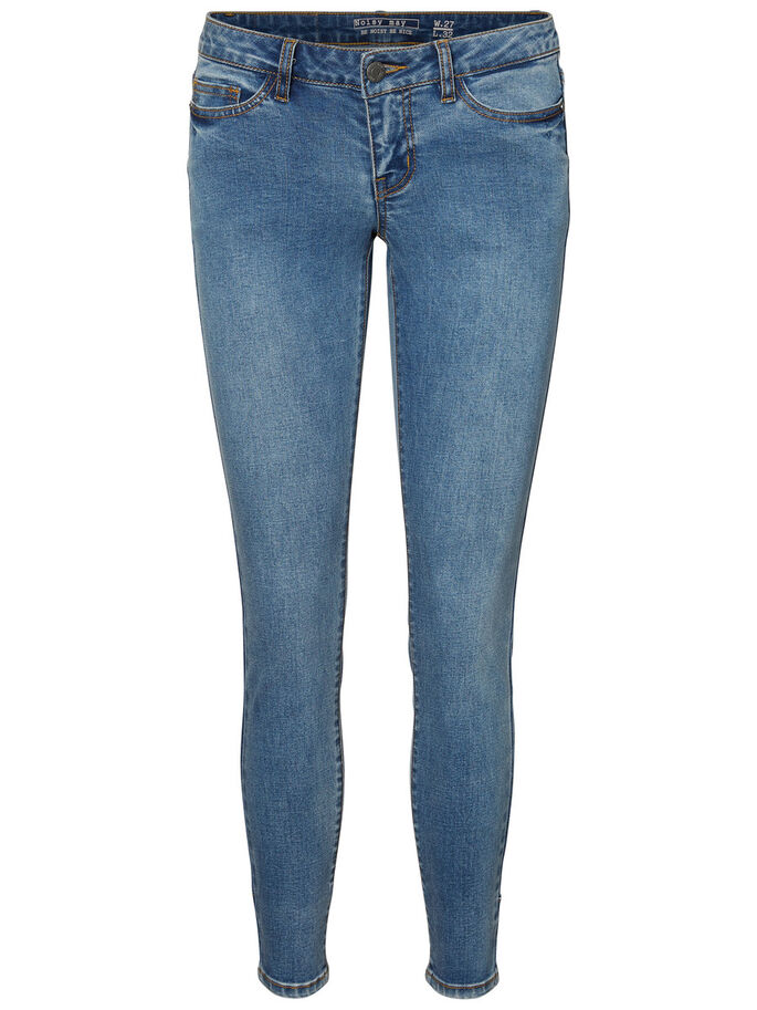 EVE NW SKINNY FIT JEANS, Medium Blue Denim, large