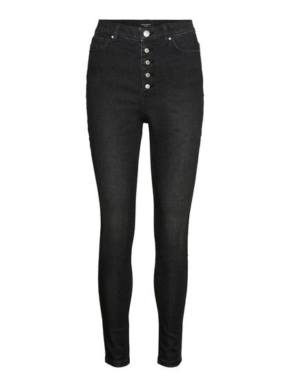 VMJOY HIGH WAISTED SKINNY FIT JEANS