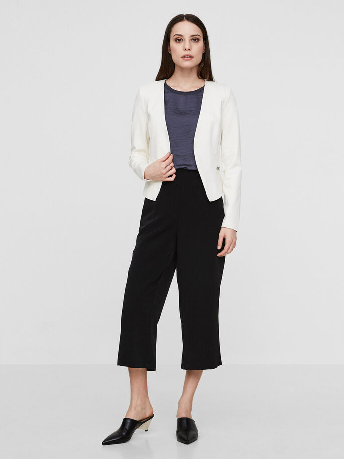 KLASSISK BLAZER, Snow White, large