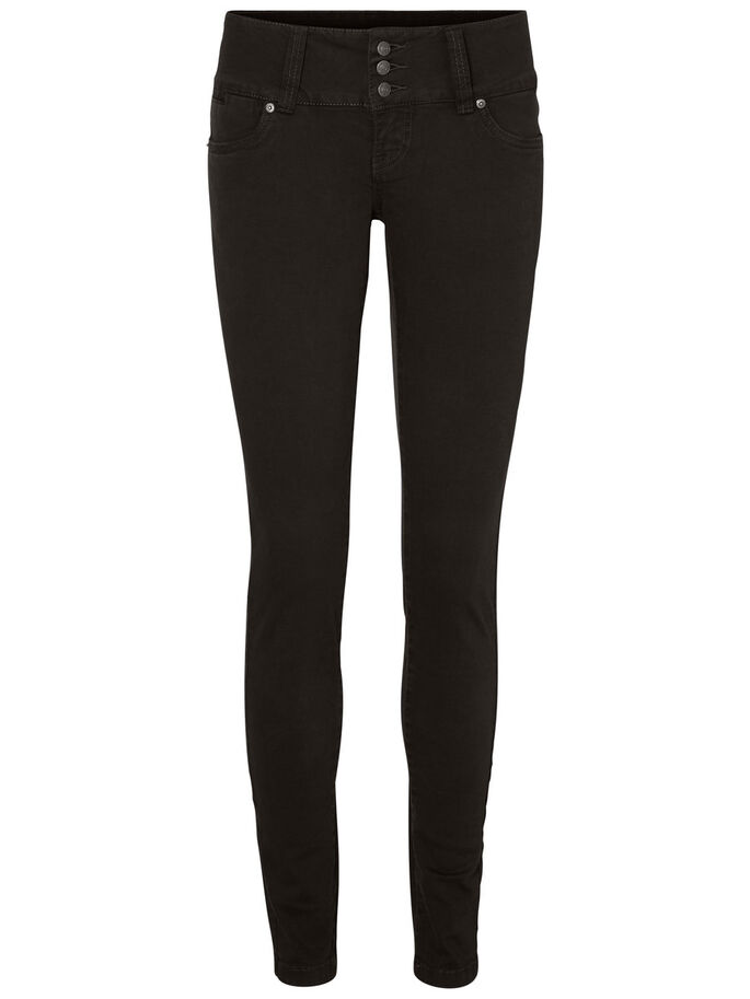 GAMER LW JEAN SKINNY, Black, large