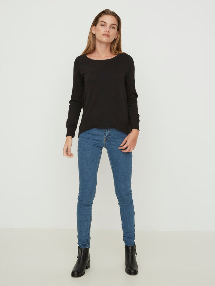 LUCY NW SKINNY JEANS, Medium Blue Denim, large